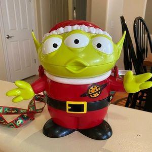2018 Disney Park ToyStory Christmas Popcorn Bucket